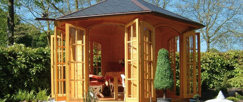 Pavillons, 6eck-Pavillons, 8eck-Pavillons, Oval-Pavillons